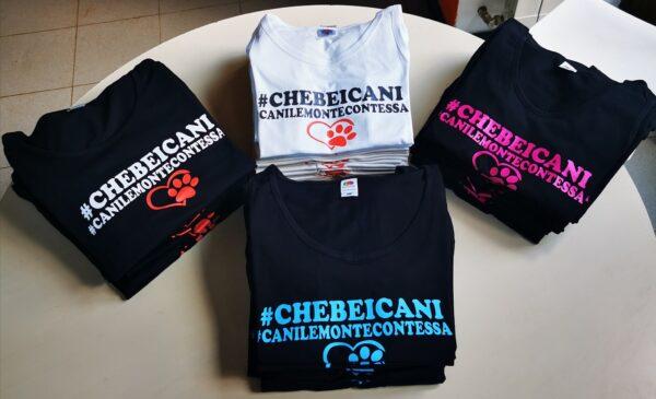 T-Shirt e Canotte Uomo e Donna #CheBeiCani 1